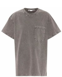 Stella McCartney Cotton Dropped Shoulder T Shirt