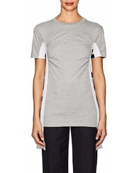Stella McCartney Cotton Jersey Intarsia Knit T Shirt