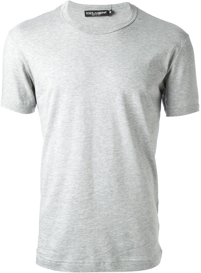 Dolce & Gabbana Classic Crew Neck T Shirt