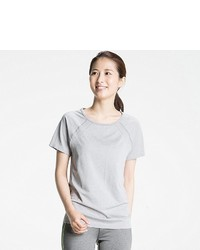 Uniqlo Dry Seamless Crewneck Short Sleeve T Shirt