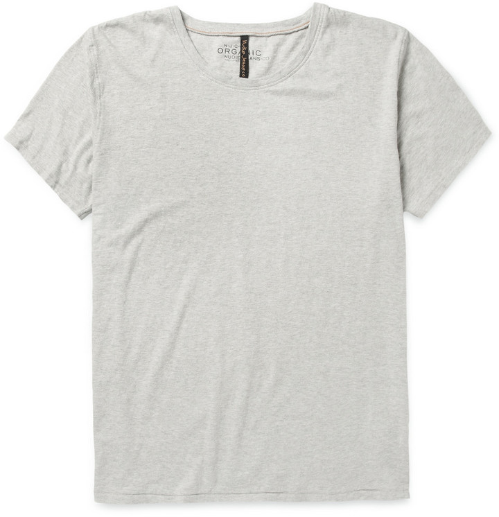 ... Nudie Jeans Fairtrade Organic Cotton Jersey T Shirt ...