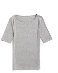 Tommy Hilfiger Final Sale  Boatneck Solid Tee