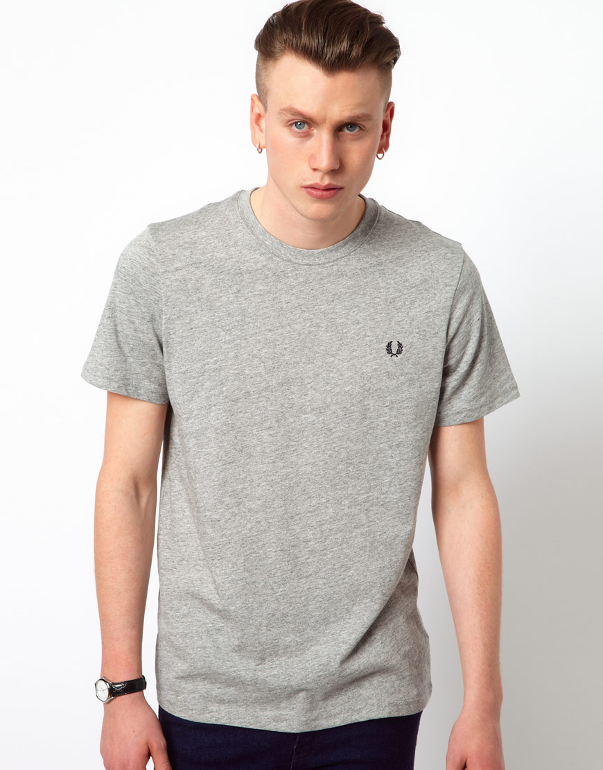 Fred Perry Crew Neck Plain T Shirt Where To Buy How To Wear