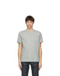 A.P.C. Grey Andrew T Shirt