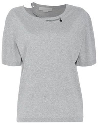Stella McCartney Grey Chain T Shirt