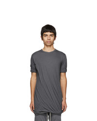 Rick Owens Grey Double T Shirt