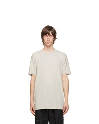 11 By Boris Bidjan Saberi Grey Dye T Shirt