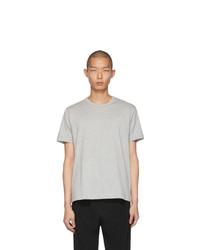 Comme Des Garcons SHIRT Grey Fine Jersey Plain T Shirt