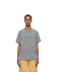 Jacquemus Grey Le T Shirt Carro T Shirt