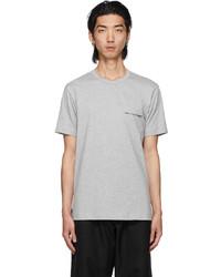 Comme Des Garcons SHIRT Grey Logo T Shirt
