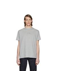 1017 Alyx 9Sm Grey Logo Visual T Shirt