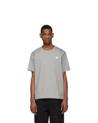 Acne Studios Grey Nash Face T Shirt