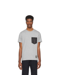 Coach 1941 Grey Patch Pocket T Shirt