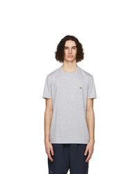 Lacoste Grey Pima Cotton T Shirt