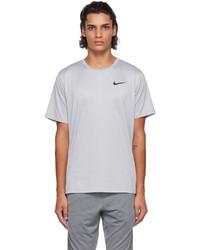 Nike Grey Pro Dri Fit T Shirt