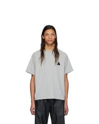 GR-Uniforma Grey Raglan T Shirt