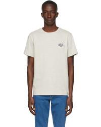 A.P.C. Grey Raymond T Shirt