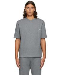 Ermenegildo Zegna Grey Reconnect Mono T Shirt