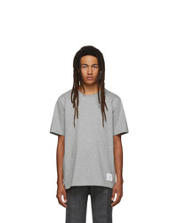 Thom Browne Grey Relaxed Fit T Shirt