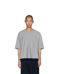 Homme Plissé Issey Miyake Grey Release Basic T Shirt