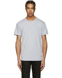 Grey ring spun t shirt medium 1183608
