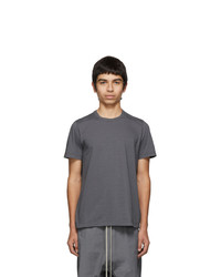 Rick Owens Grey Short Level T Shirt
