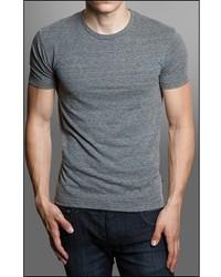 Gents Grey Short Sleeve Crew Neck T Shirt