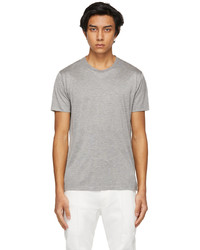 Tom Ford Grey Viscose T Shirt