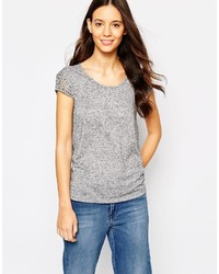 Esprit Lace Sleeve T Shirt