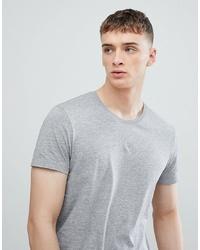 Esprit Longline T Shirt In Grey With Crew Neck