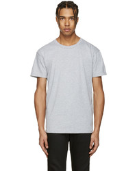 Naked And Famous Denim Grey Ring Spun T Shirt