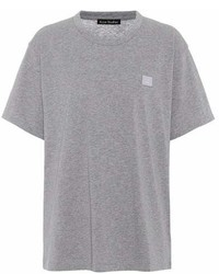 Acne Studios Nash Face Cotton T Shirt