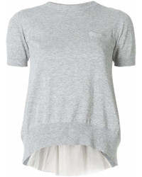 Sacai Panelled T Shirt