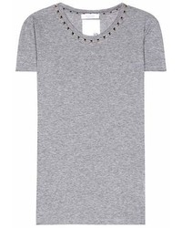 Valentino Rockstud Untitled Cotton T Shirt