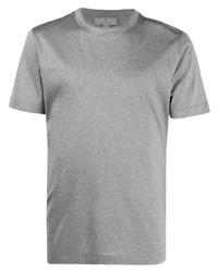Canali Round Neck Cotton T Shirt