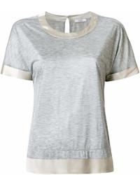 Peserico Satin Trimming T Shirt