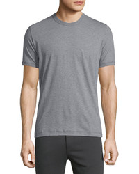 Dolce & Gabbana Short Sleeve Crewneck Jersey T Shirt Gray