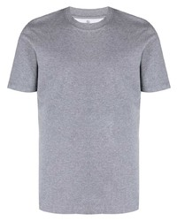 Brunello Cucinelli Short Sleeved Cotton T Shirt