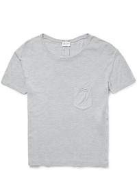 Saint Laurent Silk Jersey T Shirt
