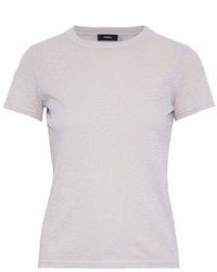 Theory Slub Cotton Jersey T Shirt