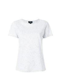 A.P.C. Speckle Finish T Shirt