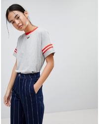 Noisy May Striped Arm T Shirt
