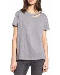 Sub urban riot poppy cutout neck tee medium 6990616
