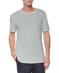 Alexander Wang T By Classic Short Sleeve Crewneck T Shirt Gray