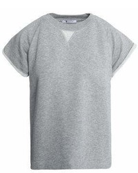 Alexander Wang T By Mlange Cotton Blend Terry T Shirt
