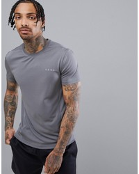 ASOS 4505 T Shirt With Quick Dry In Grey