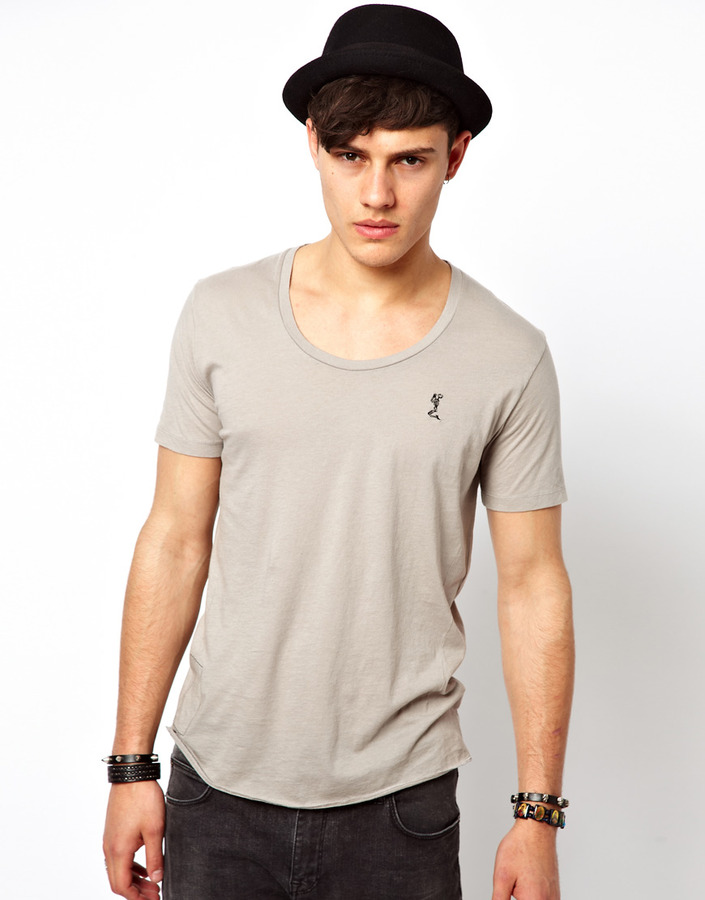 1d3291350e7 ... Religion T Shirt With Scoop Neck ...