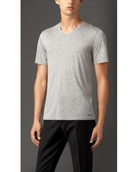 Burberry Technical Modal Blend T Shirt