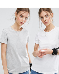 Asos The Ultimate Crew Neck T Shirt 2 Pack