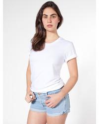 8e361273e4ab American Apparel Unisex Sheer Jersey Loose Crew Summer T Shirt